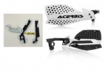 New Acerbis Frame Cover X-Grip WHT SX SXF 250 11-15 X Ultimate HandGuards WHT